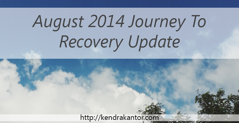 August 2014 Journey to Recovery Update