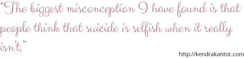The Real Faces of Mental Illness: Lila and Suicidal Ideations